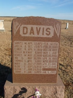 Samuel W Davis