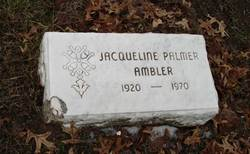 Jacqueline <i>Palmer</i> Ambler