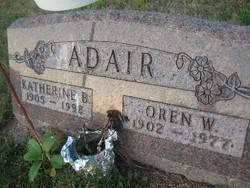 Katherine B Adair