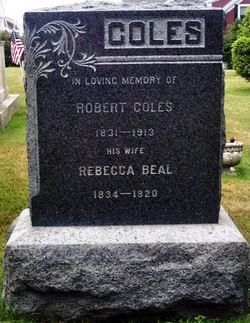 Rebecca <i>Beal</i> Coles