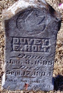 Duvey Ethel Holt