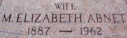 M Elizabeth Abnet