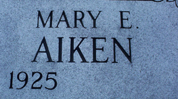 Mary E Aiken