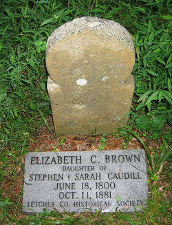 Elizabeth <i>Caudill</i> Brown