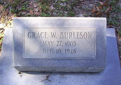 Grace Mae <i>Watson</i> Burleson