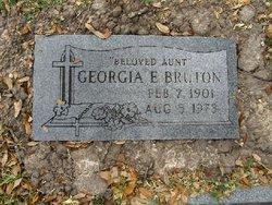 Georgia E <i>Terry</i> Burton