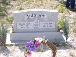 Maxine Helen <i>McCue</i> Ahlstrom