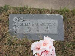 Stella Mae <i>Carlson</i> Anderson