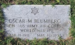 Oscar M Blumberg