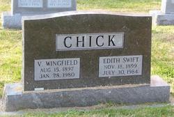 Edith <i>Swift</i> Chick