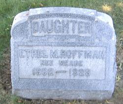 Ethel M. <i>Meade</i> Hoffman