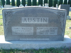 A. Virginia <i>Bickley</i> Austin