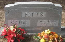 Mary Ellen <i>Scussel</i> Pitts