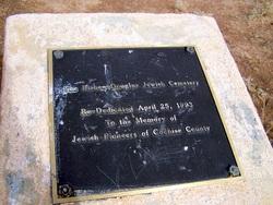 Bisbee Douglas Jewish Cemetery
