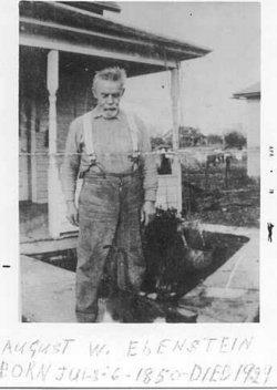 August Wilhelm / William Ebenstein