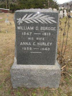 Anna E <i>Hurley</i> Burdge