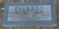 Mary Jane <i>True</i> Pickett