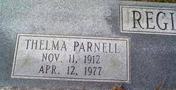 Thelma <i>Parnell</i> Register