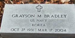 Grayson M. Bradley
