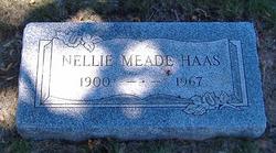 Nellie <i>Meade</i> Haas