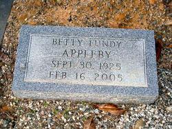 Betty <i>Lundy</i> Appleby