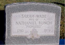 Sarah Wade <i>Ray</i> Bunch