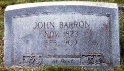 Rev John Clayton Barron
