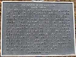 Susana A Susan <i>Wilkerson</i> Dickinson