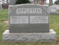 Dr Frederick Otto Appleton