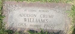 Addison Crump Williams