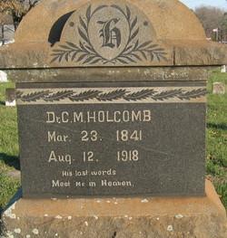 Dr Calvin Monroe Holcomb