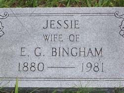 Jessie Anderson <i>Cooke</i> Bingham