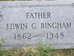 Edwin Grant Bingham, I