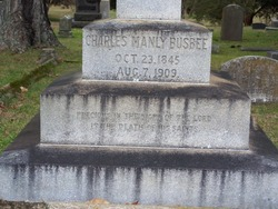Charles Manly Busbee