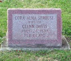 Cora Alma <i>Sprouse</i> Davis