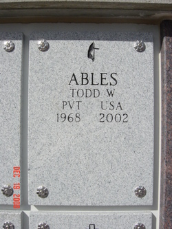 Todd Weslee Ables