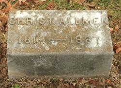 Christian Allmen, Allman vonAllmen