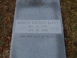 Marilyn <i>Kitchens</i> Baxley