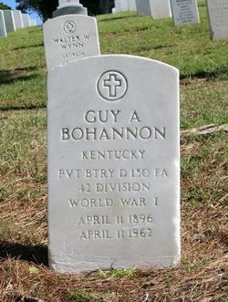 Guy A Bohannon