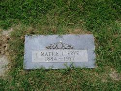 Mattie L. Frye