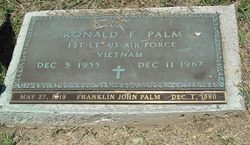 Ronald Frederick Palm