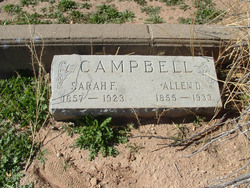 Sarah Frances <i>Owens</i> Campbell