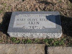 Mary Olive <i>Steen</i> Akin