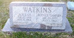 Bernice <i>Campsen</i> Watkins