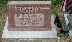 John Franklin Johnnie Palm, Jr