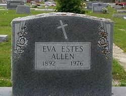 Eva <i>Estes</i> Allen