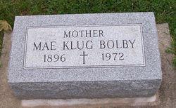 Christina Mae <i>Klug</i> Bolby