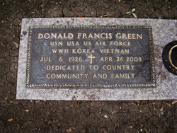 Donald Francis Green