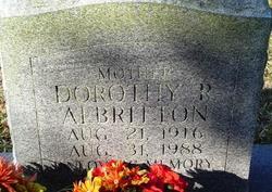 Dorothy R Albritton
