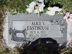 Alice V Easthouse